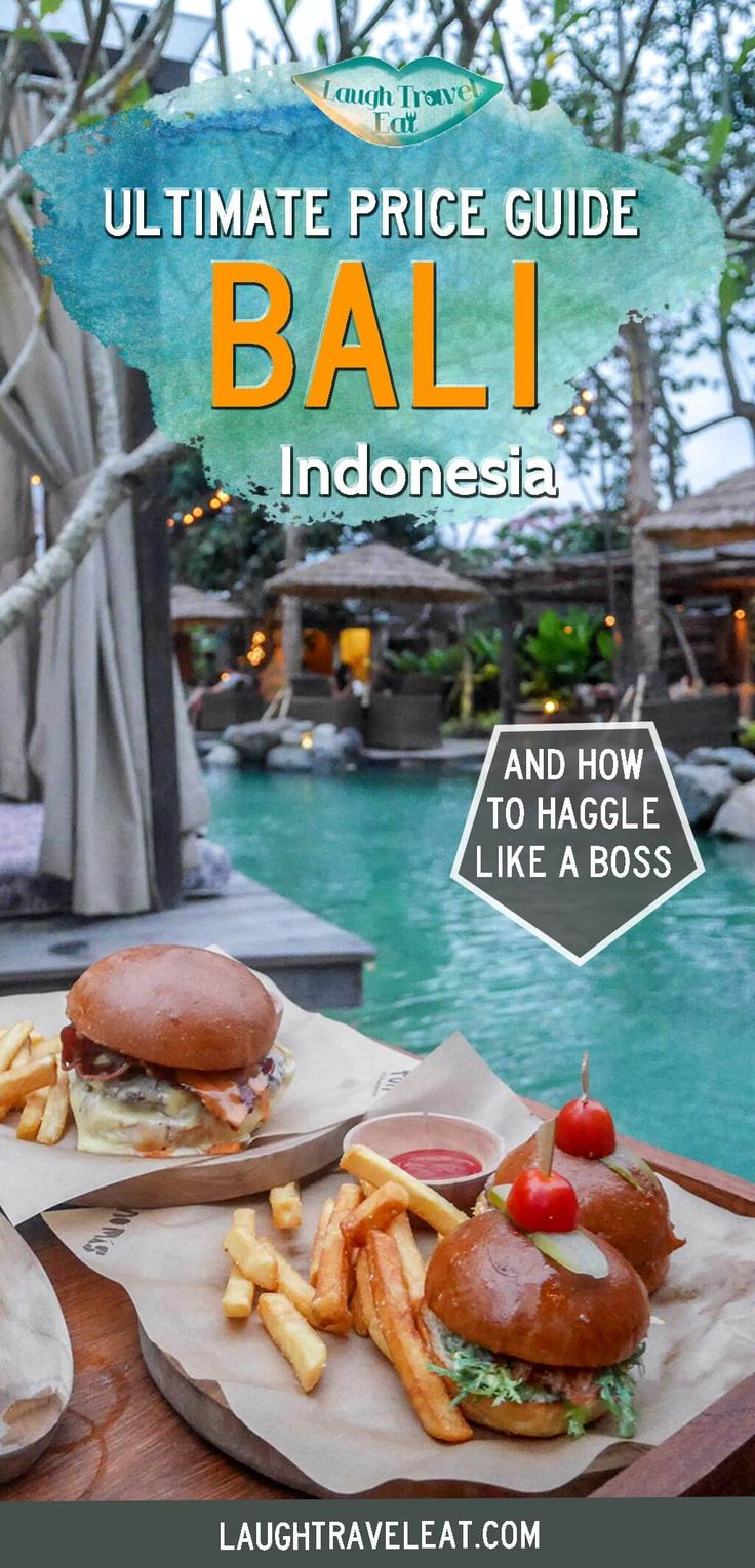 Bali's popularity for tourists means a lot of people looking to make money off them. Here's a price and haggle guide from my own experience: