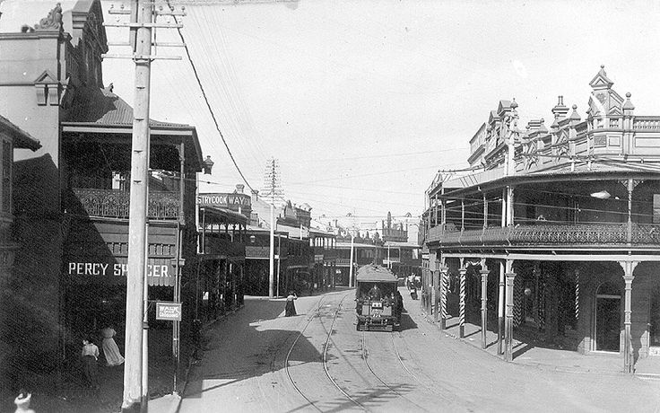 Enmore,in the inner suburbs of Sydney in 1908.A♥W