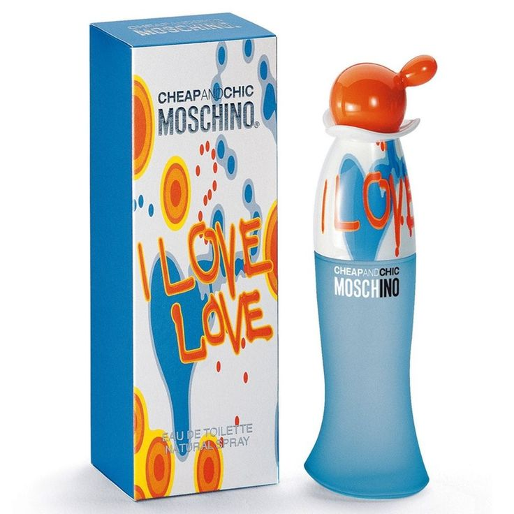 Cheap & Chic I Love Love by Moschino for women