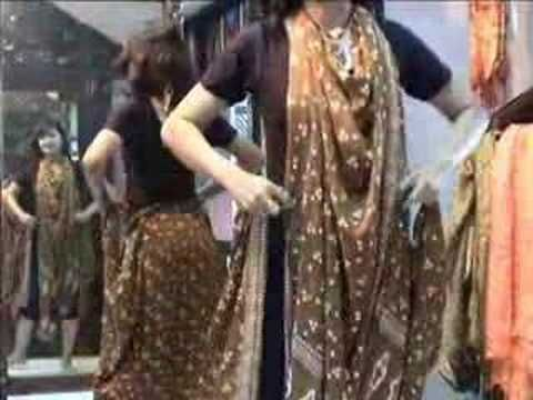 How to wear a sarong 2 - YouTube