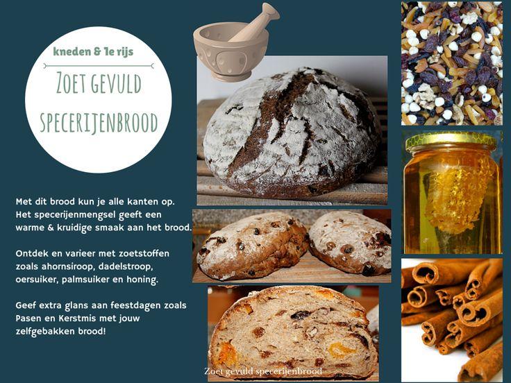 Dit heerlijke zoet gevulde specerijenbrood ga je bakken als je de online workshop desembrood bakken volgt via www.desembroodbakjezelf.nl
