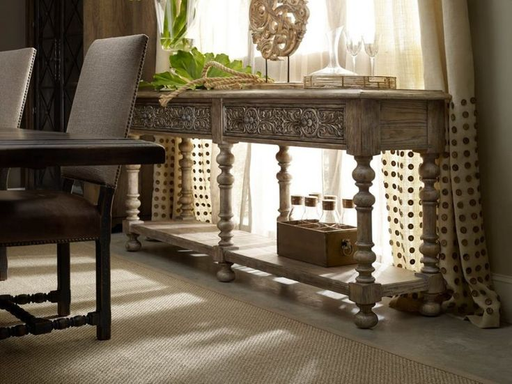 Awesome The Bexar Huntboard In Hill Country Is Crafted In A Carved Gambel Oak Motif  Inspired By