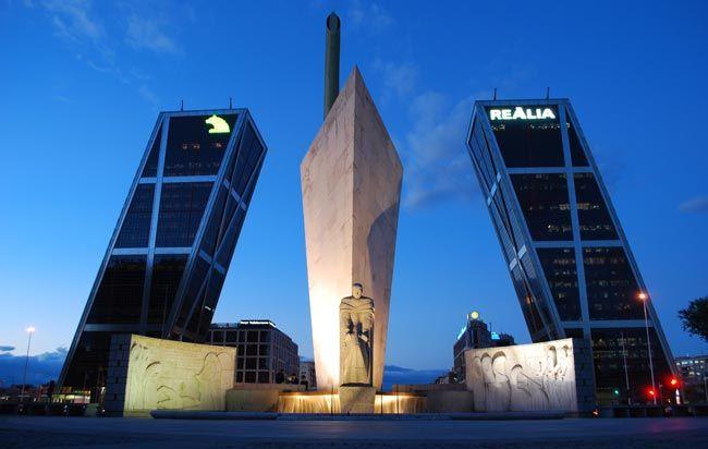 Ворота в Европу, Мадрид, Испания, 1996 г.