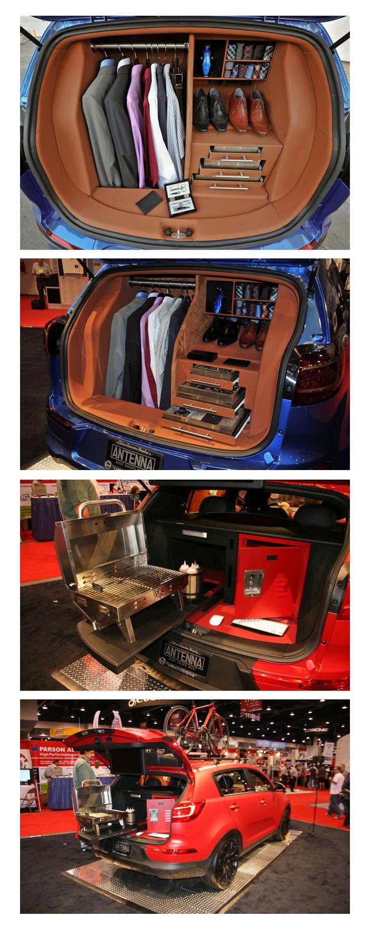 Two Superb Custom Kia Sportage's  http://blog.nobodydealslike.com/index.php/2015/07/22/two-superb-custom-kias/  #KIASportage #BankStreetKIA #KIAOnHuntClub #Dilawri