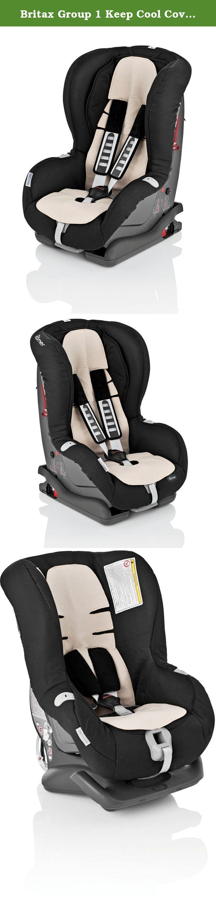 Britax Group 1 Keep Cool Cover with Outlast technology for Britax Prince/Eclipse/King Plus/Duo Plus/Safefix Plus/Safefix Plus TT. The Keep Cool Cover with Outlast Technology keeps your toddler at just the right temperature The Keep Cool Cover is structured to take in and store excess heat.