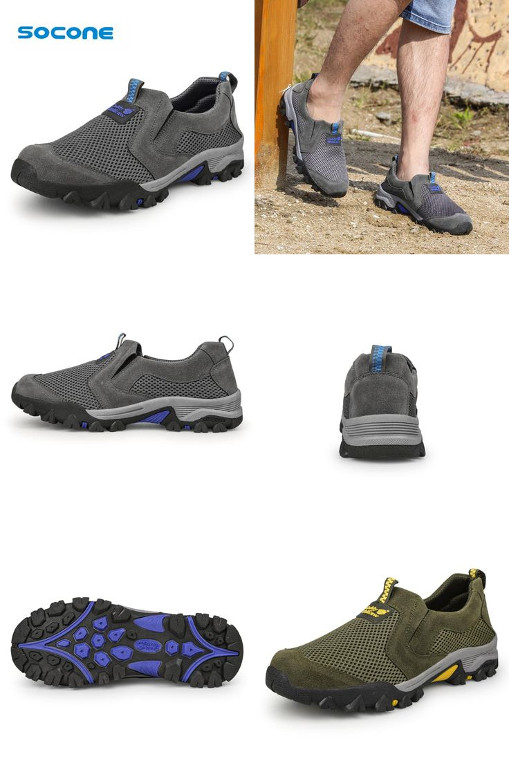 [Visit to Buy] Socone Men's Stylish Walking Shoes Outdoor Trekking Camping Brand Sport Shoes Footwear Light Sneakers tenis masculino esportivo #Advertisement