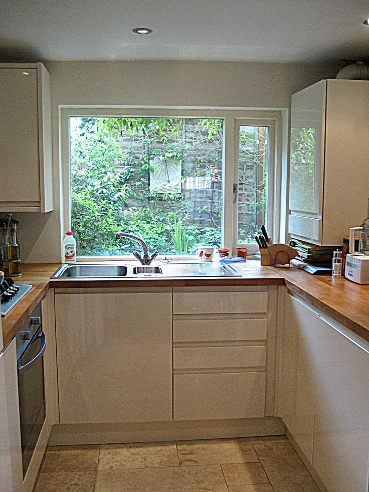small u shaped kitchen ideas - Google'da Ara