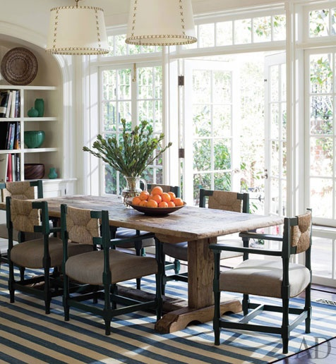 Peter Dunham: Dining Rooms, Interior Design, Dining Area, Window, French Doors, Dinning Room, Kitchen