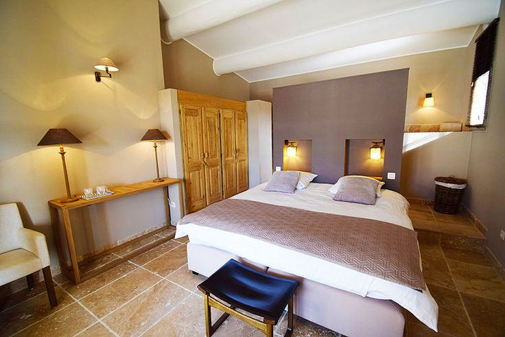 #Contemporary room at Maison Bertine, Luxury Guesthouse in #Provence