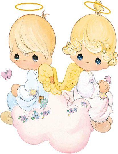 Dibujos de angelitos para bautizo - Imagui   siluetas dibujos ...