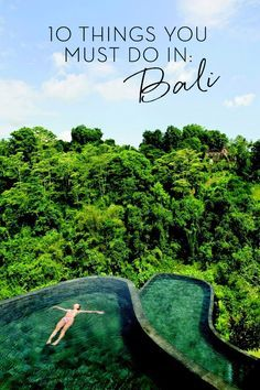 The 10 best things to do in Bali that you can't miss! cultural treasures and famous landscapes found all around the magical island. http://ticketalltime.com/
