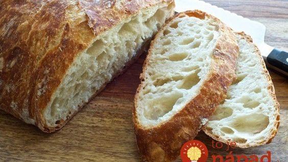 Bez hnětení, bez čekání: Nejjednodušší domácí chléb!