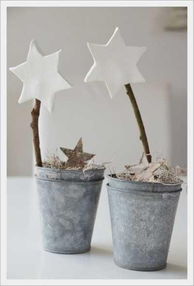 Eine Sternenkette für's Kinderzimmer aus Farbkarten