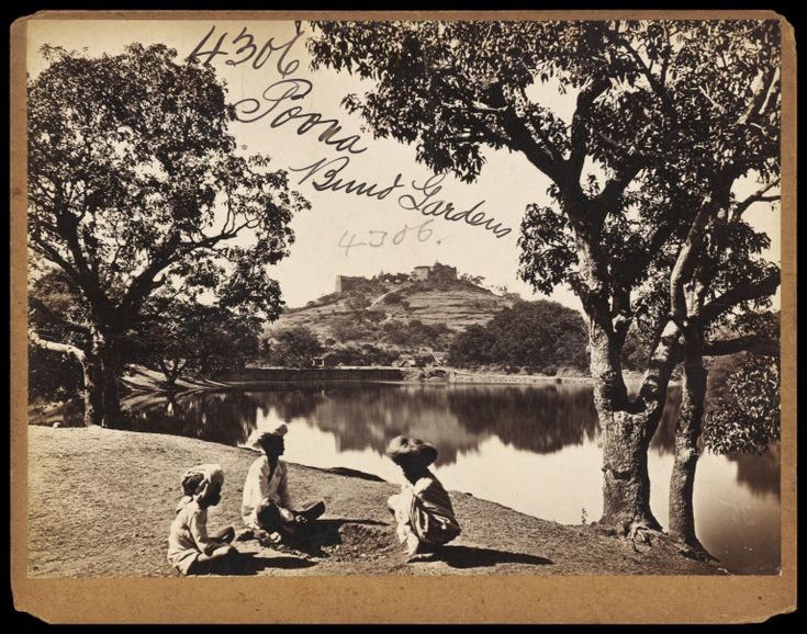 A Photograph of Poona by Francis Frith dated from sometime between 1850-1870