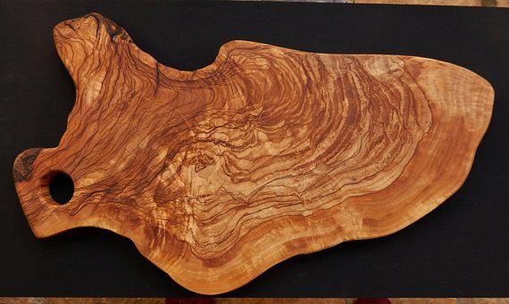 wooden cutting board. handmade olive wood cutting board.