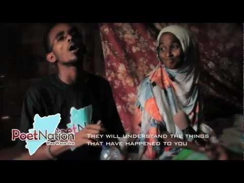 "Poet Nation- Song titled ""Our Somali Flag"" by Ahmed Mohamed Hassan from the Dadaab Refugee Camp  www.thePoetNation.com"