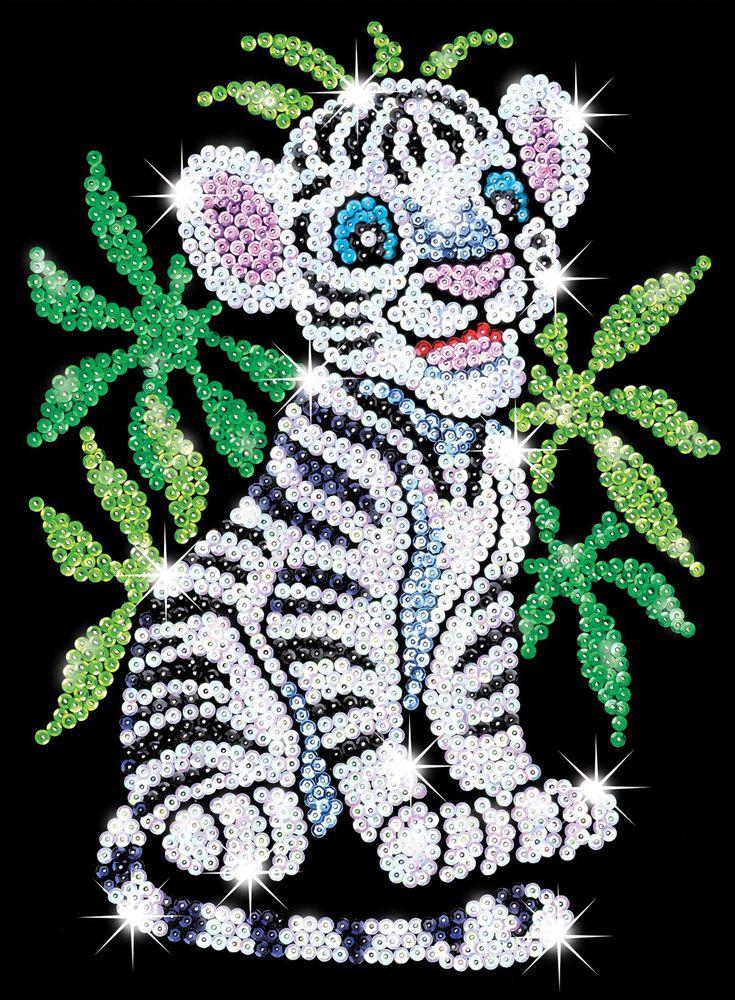 KSG Paz the Panda Junior Sequin Art