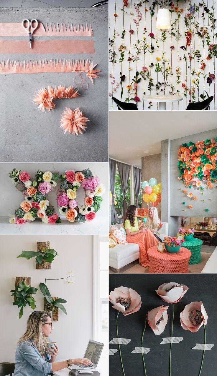 6 DIY's to bring Spring flowers inside
