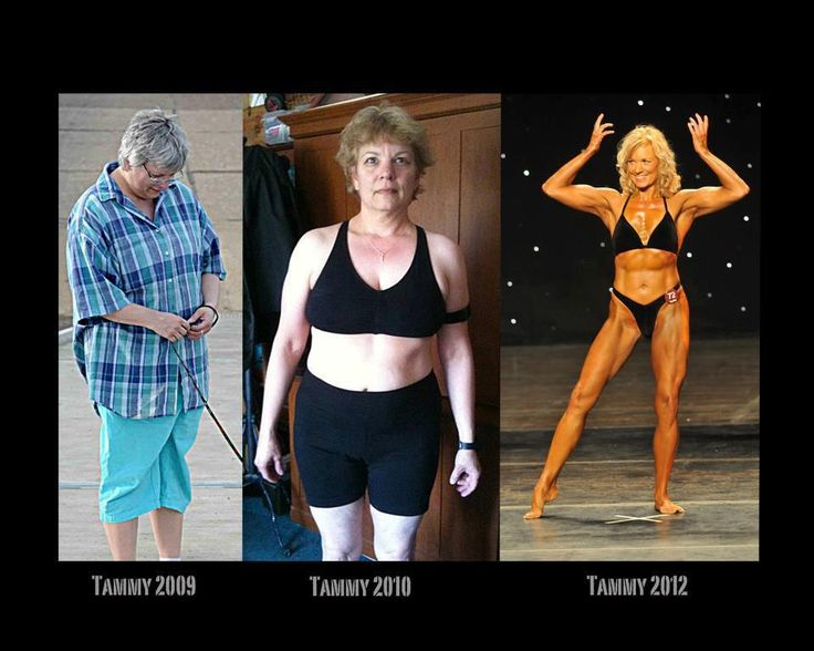 How to lose weight at 50 plus