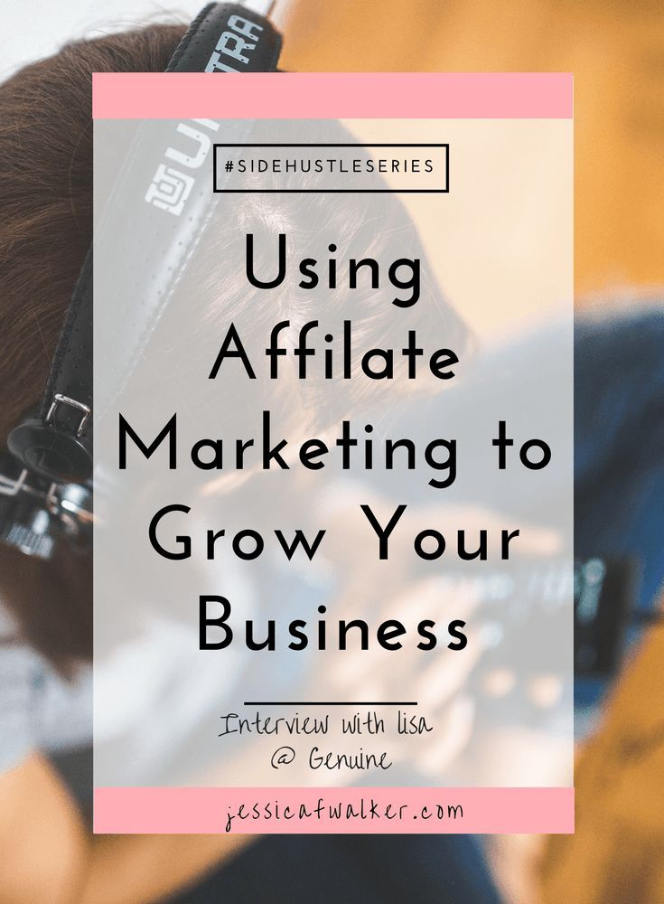 Side Hustle Series Guest post with Lisa from Genuine. Learn how she uses affiliate marketing to supplement her income each month selling essential oils. Pin to save for later.