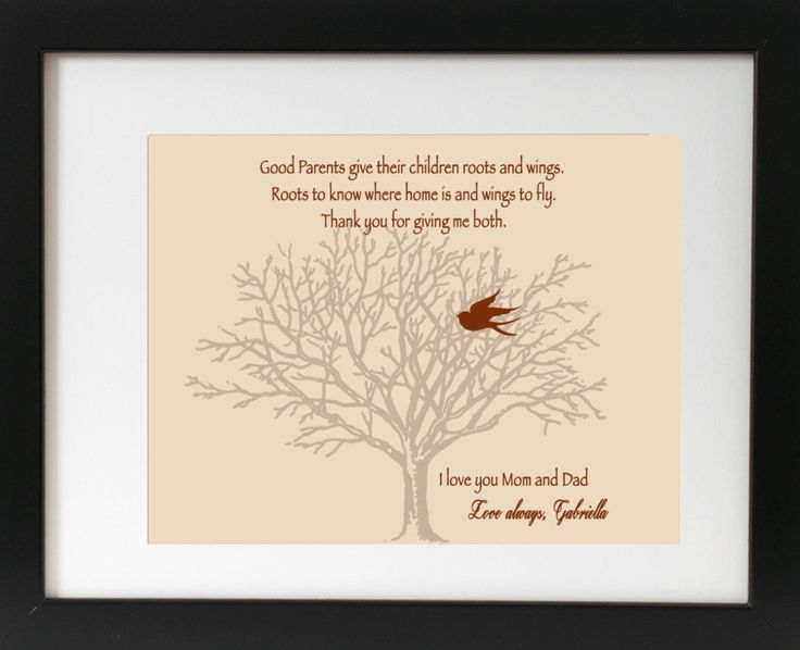 Gifts For Parents Wedding Thank You: 31 Best Mom & Dad Thank You Wedding Prints Images On