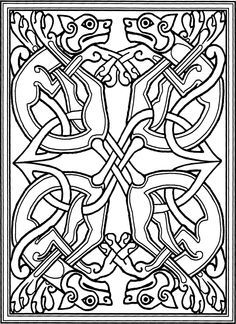 69 best book of kells images on pinterest celtic art for Book of kells coloring pages