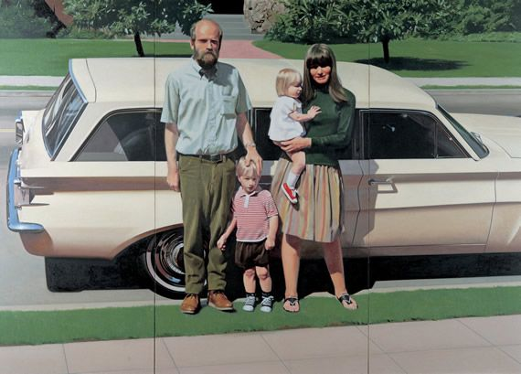 Robert Bechtle (born May 14, 1932 in San Francisco, California), is an American painter. He received his Bachelor of Fine Arts (1954) and Master of Fine Arts (1958) from the California College of Arts and Crafts, now the California College of the Arts, in Oakland, California.