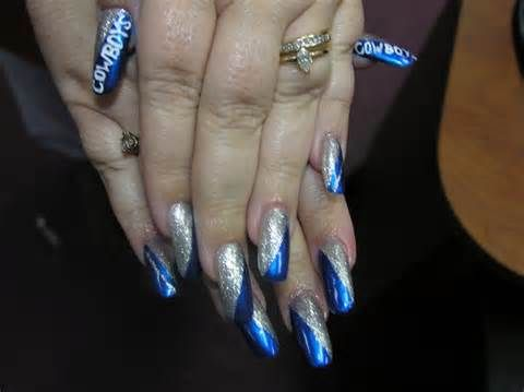 dallas cowboys nail art - Yahoo! Image Search Results