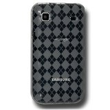 Amzer Luxe Argyle Skin Case for Samsung Vibrant T959/Samsung Galaxy S 4G SGH-T959V - Smoke Gray (Wireless Phone Accessory)By Amzer