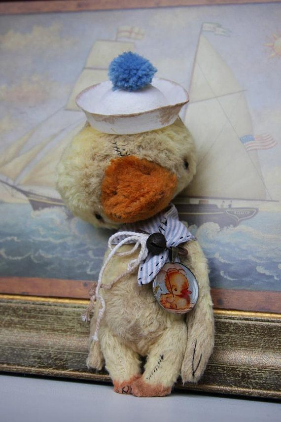 PDF Sewing Pattern For 5.5 inch Duck by noblefabric on Etsy, $18.00