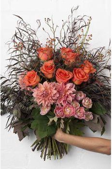 Pearsons Florist roses tulips pinks oranges