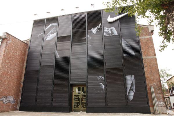 Nike 100 by 2x4 , via Behance: Facades, Nike100, Behance, Nikes, Storefront, Architecture, Design, Retail