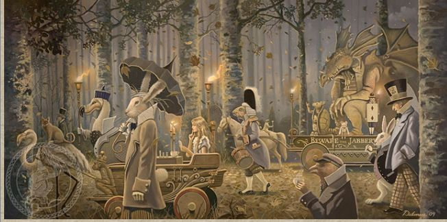 David Delamare — Alice in Wonderland