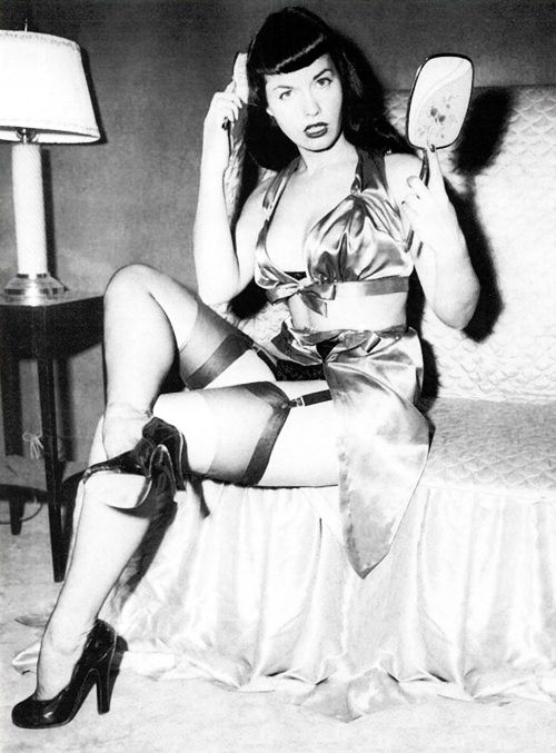 Betty Page Photos: Middle Years, Bondage And