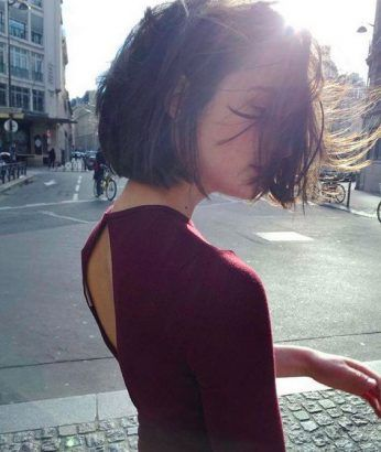 Le blunt bob : la coupe de cheveux qui va cartonner ce printemps ✂️️ - Be