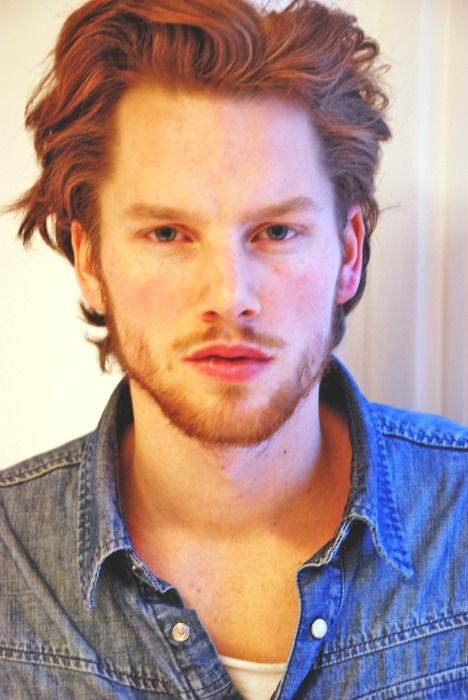 No Idea who he is, but he could be Jamie Fraser. Love me a red head.