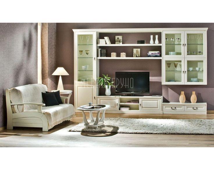 Гостиная Локеш из массива дуба. Компактная современная стенка – отличный вариант для небольшой комнаты http://www.shkafe.ru/gostinye-stenki/gostinaja-lokesh/