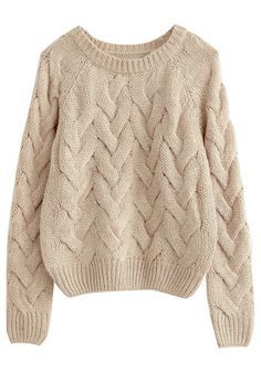 Khaki Twisted Knit Sweater - Поиск в Google