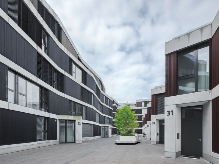 EM2N - Projects - Housing Riedpark, Zug, Switzerland
