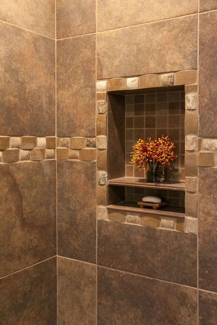 Charming Bathroom Shower Tile Detail Closeup Photo Awesome Ideas