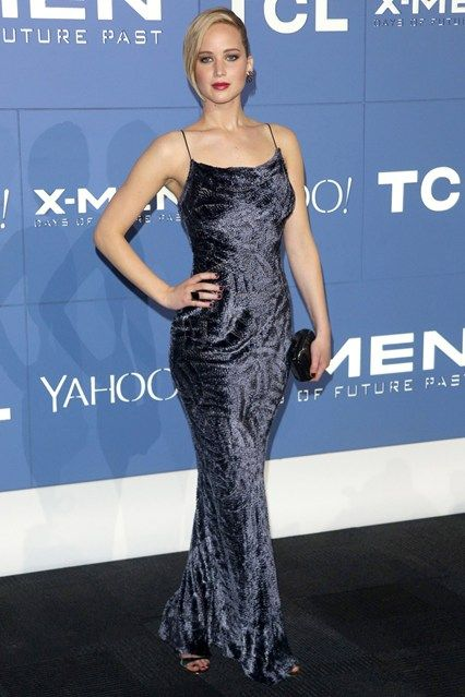 Best Dressed - Jennifer Lawrence in a Jason Wu gown.... What was she thinking, velvet should be left on ropes in museums