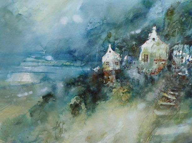 AQUARELLE EN LIBERTÉ: Présentation d'un aquarelliste : Eric Laurent...