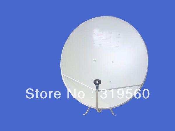 988.00$  Buy here - http://aiba5.worlditems.win/all/product.php?id=725902085 - KU band satellite antenna/ satellite dish 120CM/ steel panel/wall mount KU-120-I