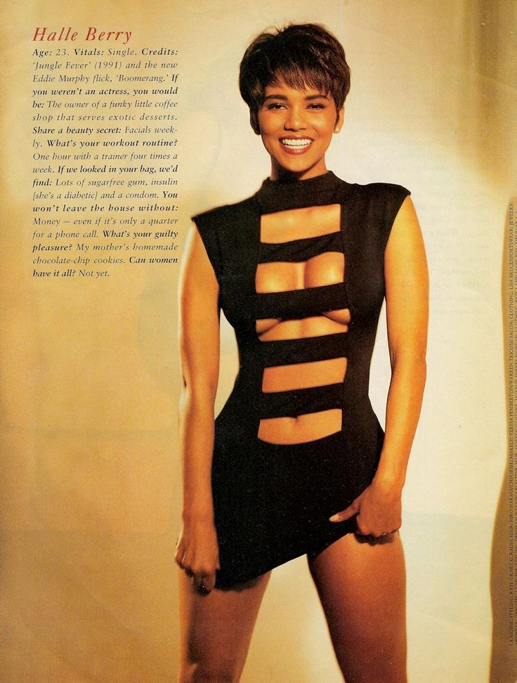 Halle Berry 90s Page 3 Halle Berry Pinterest