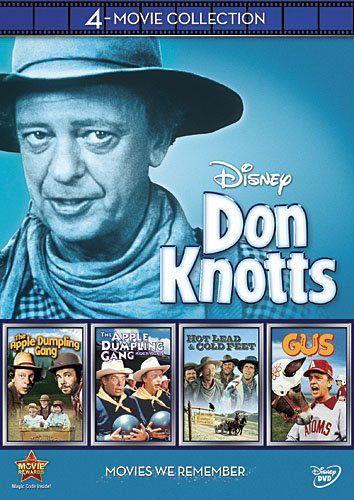 Don Knotts 4-Movie Collection (The Apple Dumpling Gang / The Apple Dumpling Gang Rides Again / Gus / Hot Lead & Cold Feet) Disney http://www.amazon.com/dp/B008H6GH9W/ref=cm_sw_r_pi_dp_wyxjwb050WWSJ