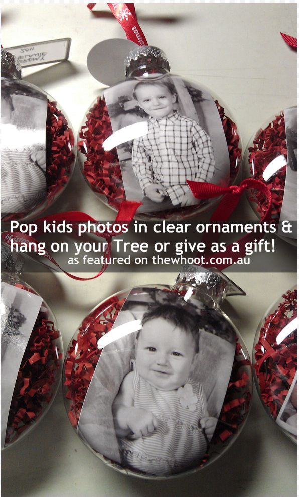 christmas ornaments - great gift idea!