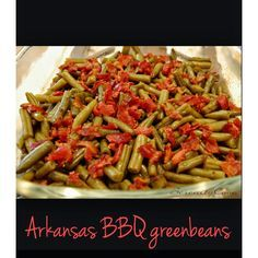 Going to a barbecue and looking for the perfect side dish? Look no further!! These Arkansas style green beans will be the best dish there! T...