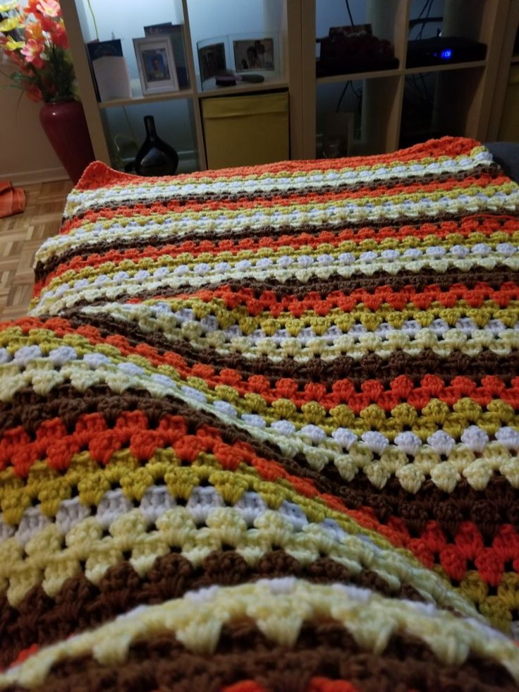 Homemade twin size blanket