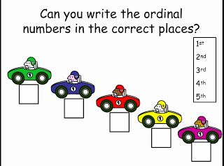 technology rocks. seriously.: Ordinal Numbers