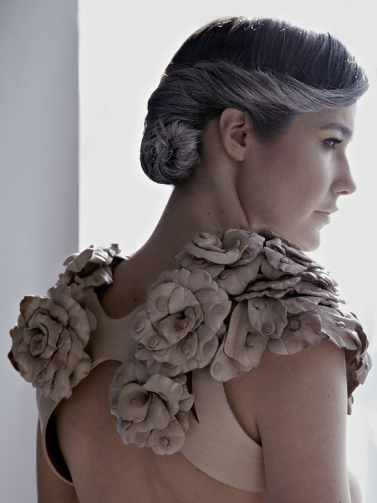 Leather Rose Bolero | NOT JUST A LABEL